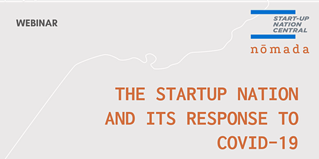 THE STARTUP NATION AND ITS RESPONSE TO COVID-19 tickets