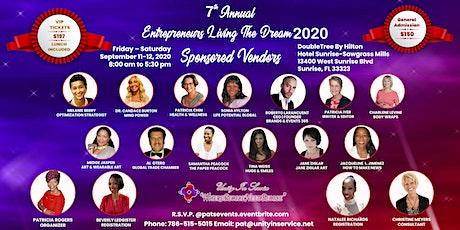 Entrepreneurs Living The Dream 2020 tickets