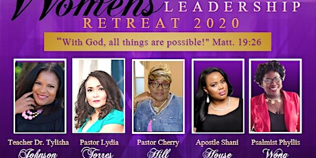 """Pioneering The Decade"" Women's Ministry Leadership Retreat tickets"