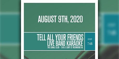 Tell All Your Friends: Live-Band Emo Karaoke tickets