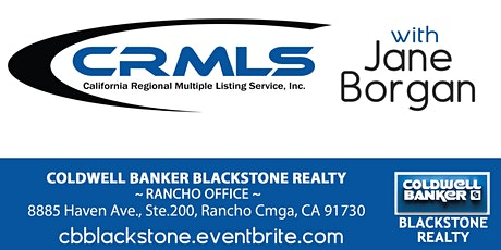 Rancho CRMLS w/ Jane Borge biglietti