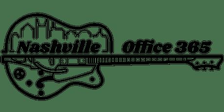 ONLINE Office 365 Nashville 2020 tickets