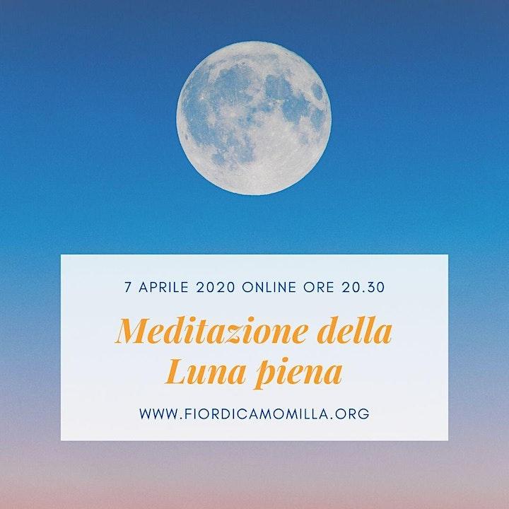 Immagine Meditazione online per la Luna piena di aprile