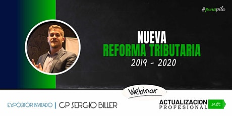GRABACION -  NUEVA REFORMA TRIBUTARIA 2019-2020 entradas