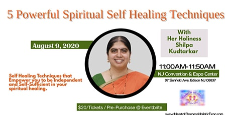 5 Powerful Spiritual Self Healing Techniques tickets
