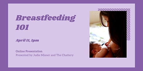 Breastfeeding 101 - ONLINE CLASS tickets