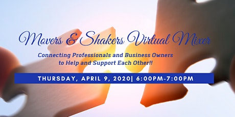 Movers & Shakers Virtual Mixer tickets