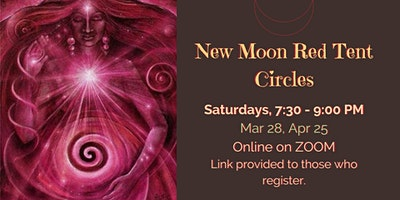ONLINE New Moon Red Tent Circle
