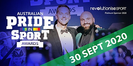 2020 Australian Pride in Sport Awards  tickets