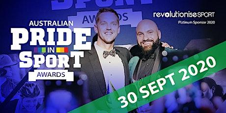 2020 Australian Pride in Sport Awards  tickets