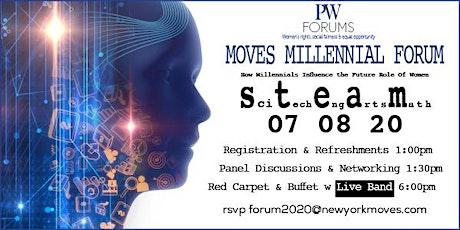 Moves Millennial Forum - how millennials influence the future role of women tickets