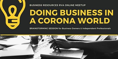 Doing Business in a Corona World #2  tickets