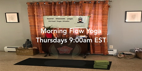9am  All Levels  Yoga Flow via Live-Stream tickets