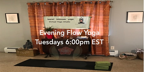 6pm  All Levels  Yoga Flow via Live-Stream tickets