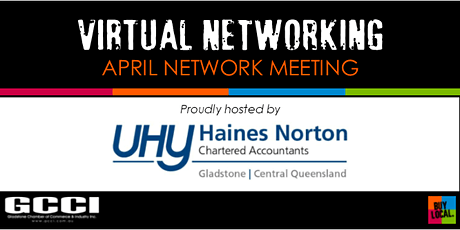 VIRTUAL NETWORKING | GCCI April Network Meeting tickets