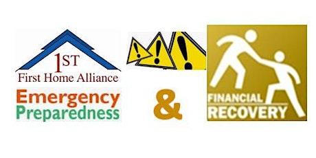 First Home Alliance 2020 Volunteer Emergency Preparedness & Financial Recovery Drive-thru tickets