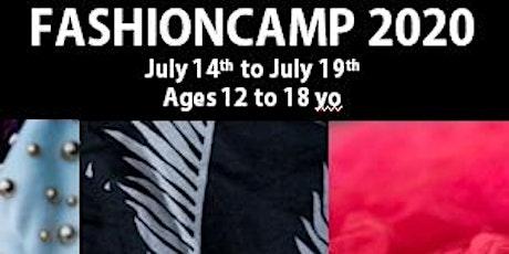 Summer FashionCamp - Learn Fashion Design (Ages 12yo to 18yo) tickets