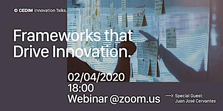 Webinar: Frameworks that Drive Innovation boletos