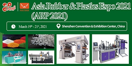 Asia Rubber & Plastics Expo 2021 tickets