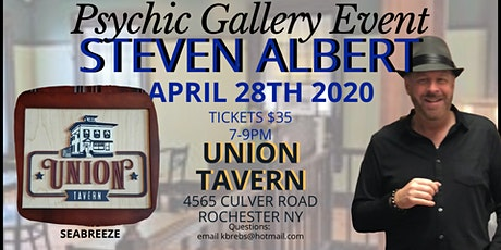 Steven Albert: Psychic Gallery Event Union Tavern tickets