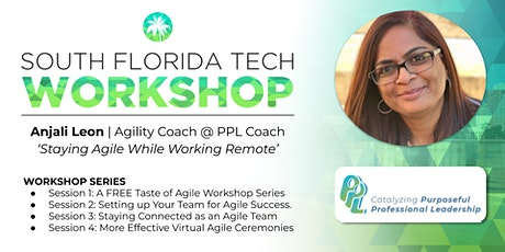 Agile Workshop Series | 'Staying Connected While Working Remote' tickets