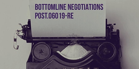 July Post Session 6 Modules N,G Bottomline Negotiations tickets