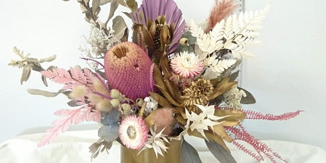 Forever Arrangement workshop (dried & preserved flowers) tickets