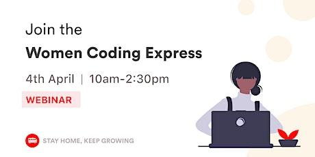 [WEBINAR] Women Coding Express tickets
