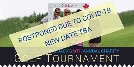 POSTPONED - GGB'S 5th Annual Charity Golf Tournament tickets