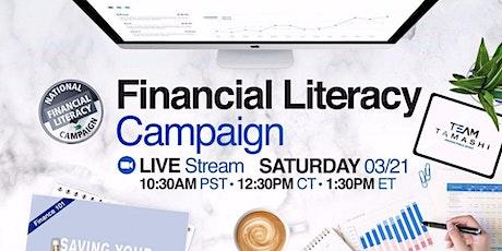 Financial Literacy Webinar tickets