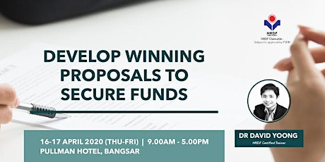 Develop Winning Proposals to Secure Funds tickets