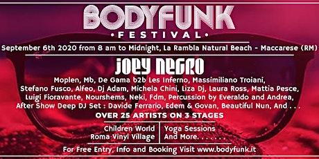Body Funk Festival biglietti