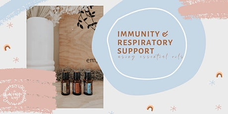 Immunity & Respiratory Support using Essential Oils tickets