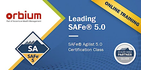 Leading SAFe 5.0 ONLINE Certification Training tickets