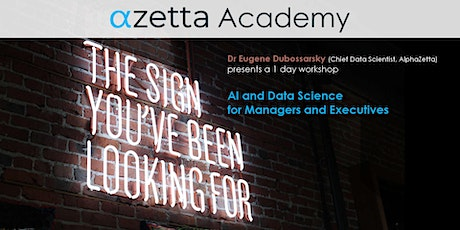 AI and Data Science for Managers - Online tickets
