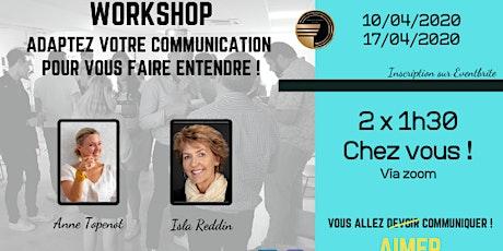 Workshop: Adaptez votre Communication pour vous faire entendre - En Ligne billets
