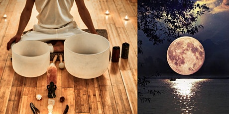Super Full Moon Sound Healing - ONLINE tickets