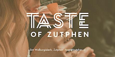 Taste of Zutphen tickets