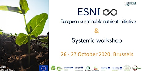 ESNI - European Sustainable Nutrient Event - together with the Systemic workshop tickets