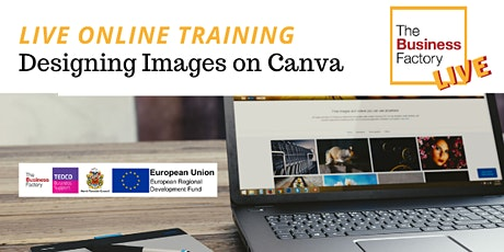 ONLINE- Creating images on Canva tickets