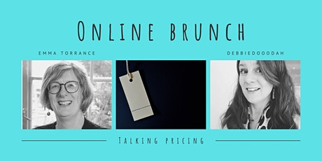 Blue Stockings Online Brunch: talking pricing with Debbie and Emma tickets