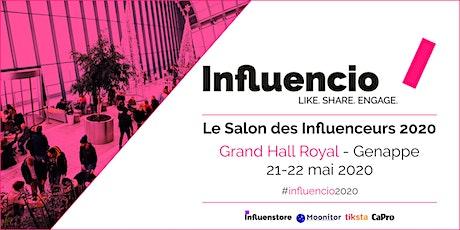 Influencio - Salon des influenceurs 2020 tickets