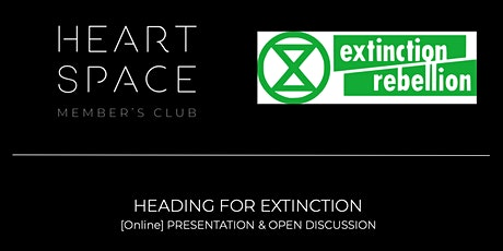 [Online Event]: Heading for Extinction and what to do about it tickets