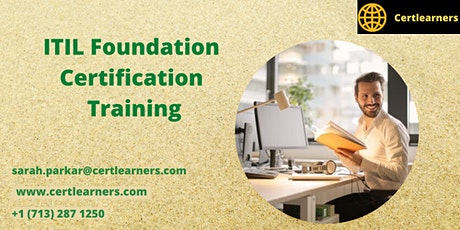 ITIL® V4 Foundation 2 Days Certification Training in Wilmington, DE,USA tickets
