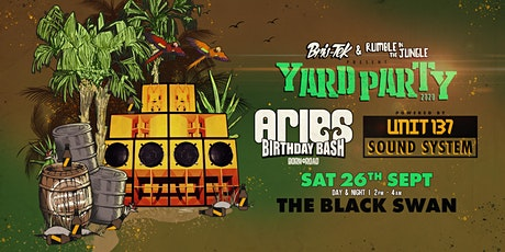 Aries Birthday Bash - Unit 137 - Yard Party tickets
