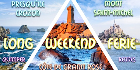 Long weekend férié Mont St-Michel, Côte de Granit Rose & Quimper tickets