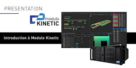 Webinaire - Introduction à Modulo Kinetic tickets