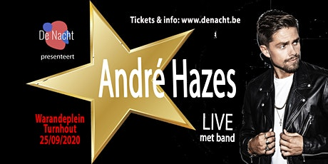 ANDRE HAZES Live met band tickets