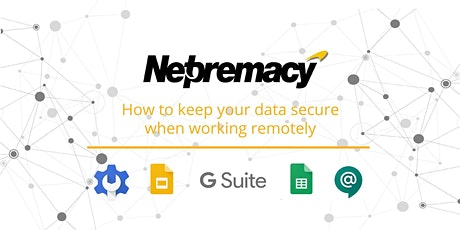 How to keep your data secure when working remotely tickets