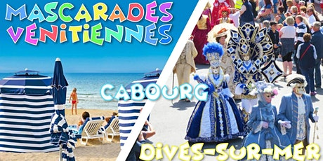 Carnaval Mascarades Vénitiennes 2020, Cabourg & Dives - DAY TRIP tickets